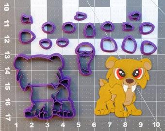 Saber Tooth Tiger 266-857 Cookie Cutter Set