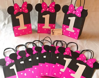 Minnie Mouse Party Bags
