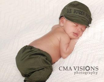 Border Patrol Hat and Pants Set - Infant