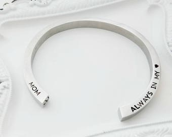 Personalized Cremation Jewelry - Memorial Urn Bracelet - Memorial Jewelry for Ashes - Memorial Bracelet for Ashes - Sympathy Gift