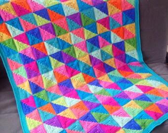 Crochet Blanket Pattern with bonus 'Design Your Own' templates