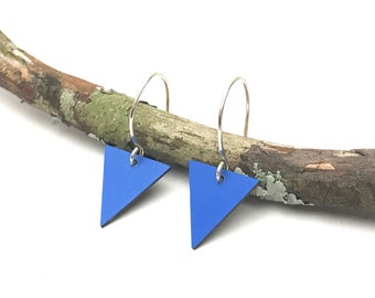Lil bunting earrings / blue