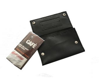 Pipe Tobacco Pouch / Leather Tobacco Pouch / Tobacco case / leather case / Leather handmade case