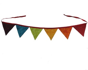 Color multicolor, Rainbow Flags Bunting, flags
