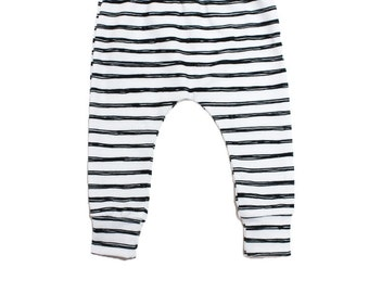 Baby Leggings, Toddler Leggings, Baby Gift, Monochrome Leggings, Boy Leggings, Girl leggings, Boy pants, Baby Shower Gift, Newborn gift