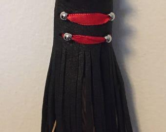 Deerskin Leather Hair Wrap