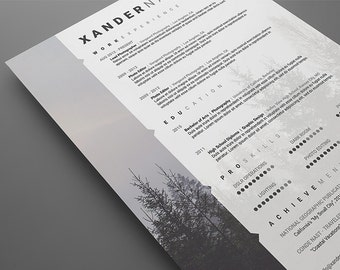 psd resume templates