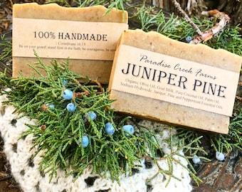 Juniper Pine Goat's Milk Soap