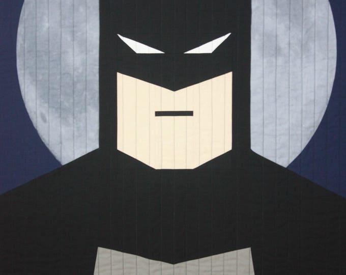DC Comics baby quilt-Batman-MTO