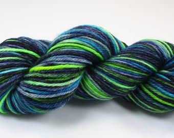 Sherlock--hand dyed worsted weight, merino superwash (218yds/100gm)