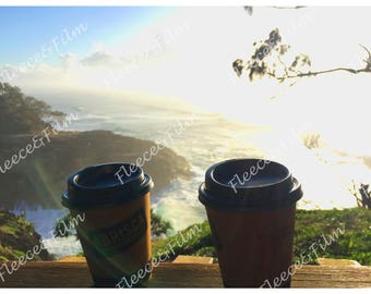 Artist Signed Photo Print ' Sip at Sunrise ' - Australian Collection Photography 12 X 18 inches
