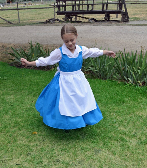 Like this item?  sc 1 st  Etsy & Belle Blue Village Peasant Provincial Life Costume Dress