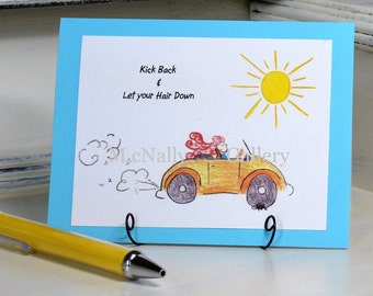 Birthday Card  Happy Birthday Greeting Card Fun Card