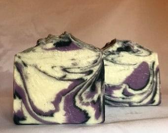Handmade Soap - Blissful Blackberry Scent