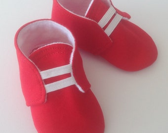 Red Baby Shoes | Red Newborn Shoes | Red Infant Shoes | Red Toddler Shoes