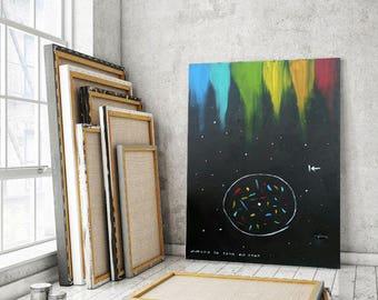 Kabbalah Art, Kabbalah Painting, Black Painting, Acrylic Black art, Space Painting, Canvas art, Handmade Painting, Original art, 140X100