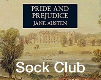3 Month Pride and Prejudice Sock Yarn Club