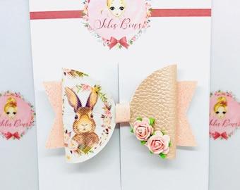 Romantic Bunny Bow