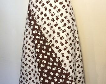 Vintage 70s Reversible Wrap Skirt