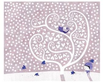 The Blue Bird A012 poster