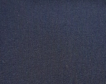 Polyster Neoprinte Navy Blue 12 oz 60 inches / by the yard