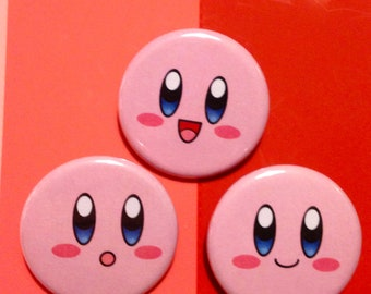 Kirby Face Buttons