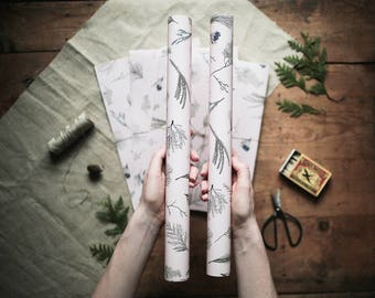 Winter twigs - Wrapping Paper