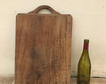 ANTIQUE VINTAGE FRENCH bread or chopping cutting board wood 23031829
