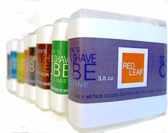 7 Shaving Soap Samples, Mens Shave Soap Travel Sizes, Choose From 15 Scents