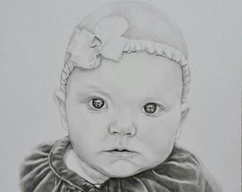 Custom Portrait Drawing