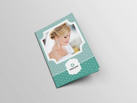 Fotografie-Broschüre-Vorlage Bifold Broschüre Vorlage für