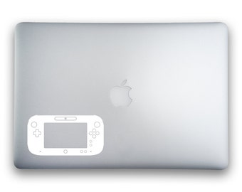 Nintendo Wii U GamePad Sticker for MacBook, MacBook Pro, MacBook Air and other Apple Devices