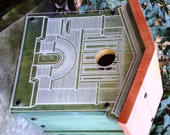 Frank Lloyd Wright Dana-Thomas House Birdhouse