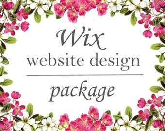 Wix Website Design Package