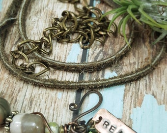 WabiSabi - Art Jewelry Wrap Bracelet