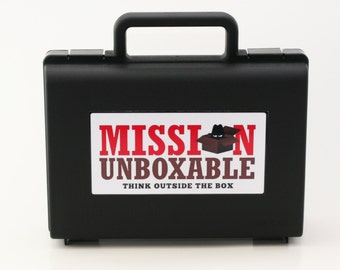 12 Month Subscription of Top Secret Agent Mission & Spy Kits with Briefcase
