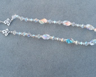 Swarovski Crystal Galactic Wedding Necklace Bride bridesmaids maid of honor Mother of the Bride Mother of theGroom Sweet Sixteen