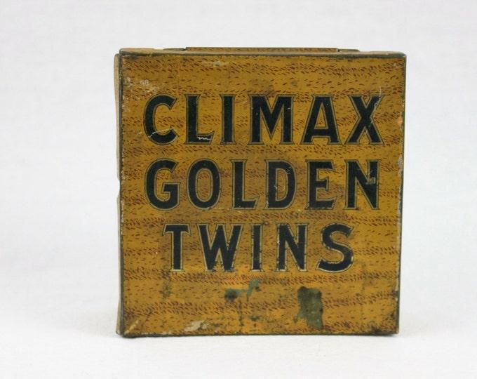 Vintage Climax Tobacco Plug Tin Box