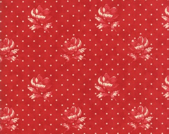 Farmhouse Reds Red 14851 11 by Minick & Simpson for moda fabrics