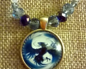phoenix from the fire necklace