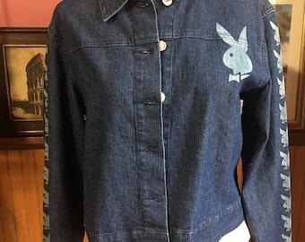 Authentic Vintage Playboy Denim Jacket