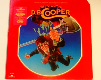 The Pursuit of D.B. Cooper - Soundtrack Record - Waylon Jennings - Jessi Colter - The Marshall Tucker Band - Polydor 1981 - Vintage Vinyl LP