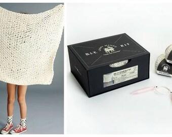 Loopy Mango DIY Box Kit, baby blanket, Big Cotton Baby Shower, Birthday