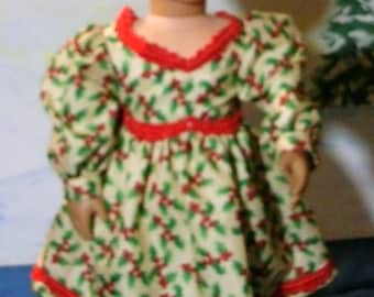 """Festive Christmas outfit for 18"""" doll"""