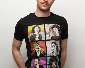 Women of Twin Peaks Black T-Shirt