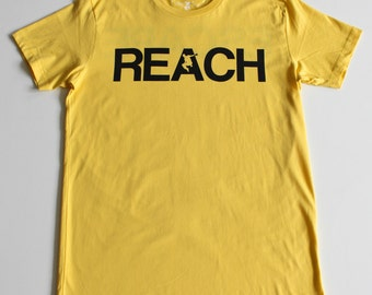 The REACH / ESCAPE Parkour T-Shirt - Yellow