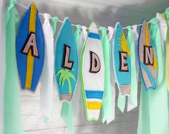 Pool Party Banner, Surfboard Birthday, Surfboard Birthday Banner, Surfboard  Party, Beach Party Banner, Beach Birthday Surfboard, Surfboard
