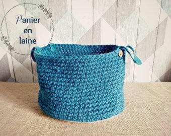 woolen basket storage basket
