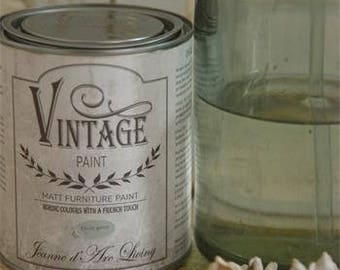 Vintage Paint - chalk paint - 100ml pot - Dusty green