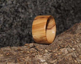 Size 12 - Olive Wood Ring